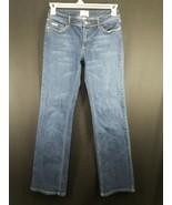 White House Black Market Women's Dark Wash Denim Blue Jeans Size 2R - $17.75