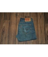 Legendary Levi's® 501 Mens Jeans Size W32 L32 Cotton Fast Shipping Perfect Jeans - $22.10
