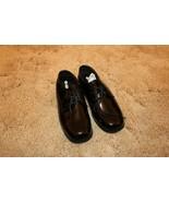 Boys Shoes Tuxedo Gateway Formal Size 4 Black - $7.87