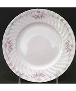 Vintage GST1 by Gold Standard PORCELAIN CHINA Pink Flower Salad Plate - $10.39