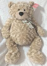 GANZ HX11091 Hayden Light Brown 26 Inch Polyester Fiber Cuddly Bear image 1