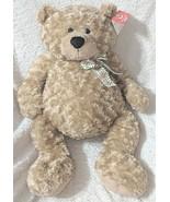 GANZ HX11091 Hayden Light Brown 26 Inch Polyester Fiber Cuddly Bear - $27.99