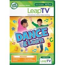 LeapFrog LeapTV Dance & Learn Educational Active Video Game Phonics Multiplayer - $17.77