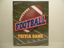 SEALED FOOTBALL TRIVIA GAME Ages 8 & Up, For 2 Or More Players NEW - $25.73