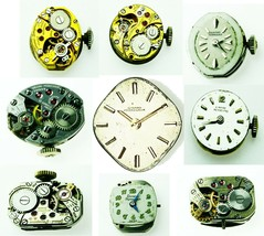 GIRARD PERREGAUX Old Watch Movement Verieties To Choose For parts, repla... - $6.79+
