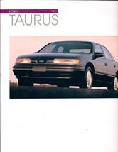 Ford Taurus 1993 Brochure - $1.75