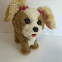 Hasbro A0514 Puppy Dog Interactive Happy To See You Vintage Fur Real - $17.37