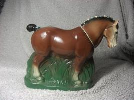 Vintage Decanter 1974 Ezra Brooks Heritage China Horse - $23.01