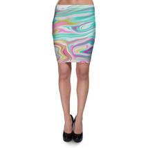 Rainbow Marble Bodycon Skirt - $26.99+