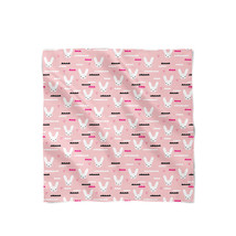 Sky Love Bunny Pink Satin Style Scarf - €19,93 EUR+