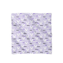 Sky Love Bunny Purple Satin Style Scarf - $430,91 MXN+