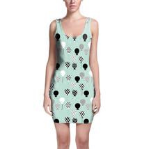 Party Balloons Mint Bodycon Dress - $32.99+