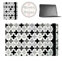 Geometric Plus Monochrome Tablet Flip Case - $26.99+