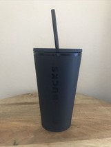 Starbucks Acrylic Cold Cup with Straw, 16oz - Matte Black - $39.59