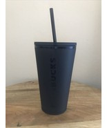 Starbucks Acrylic Cold Cup with Straw, 16oz - Matte Black - $24.70