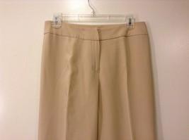 Ladies Jones New York Light Tan Beige Pants Sz 6 image 3