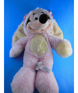"""Easter Bunny Minnie Mouse Plush Doll 12"""" Disney Store Super Soft Excellent - $11.08"""