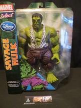 "Marvel Diamond Select Savage Hulk Action figure 10"" Disney Store - $55.20"