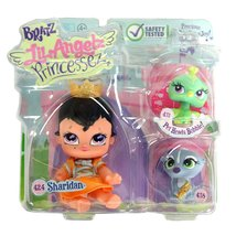 Bratz MGA Entertainment Lil Angelz Princessez Series 4 Inch Doll with 2 Pets Set - $31.99