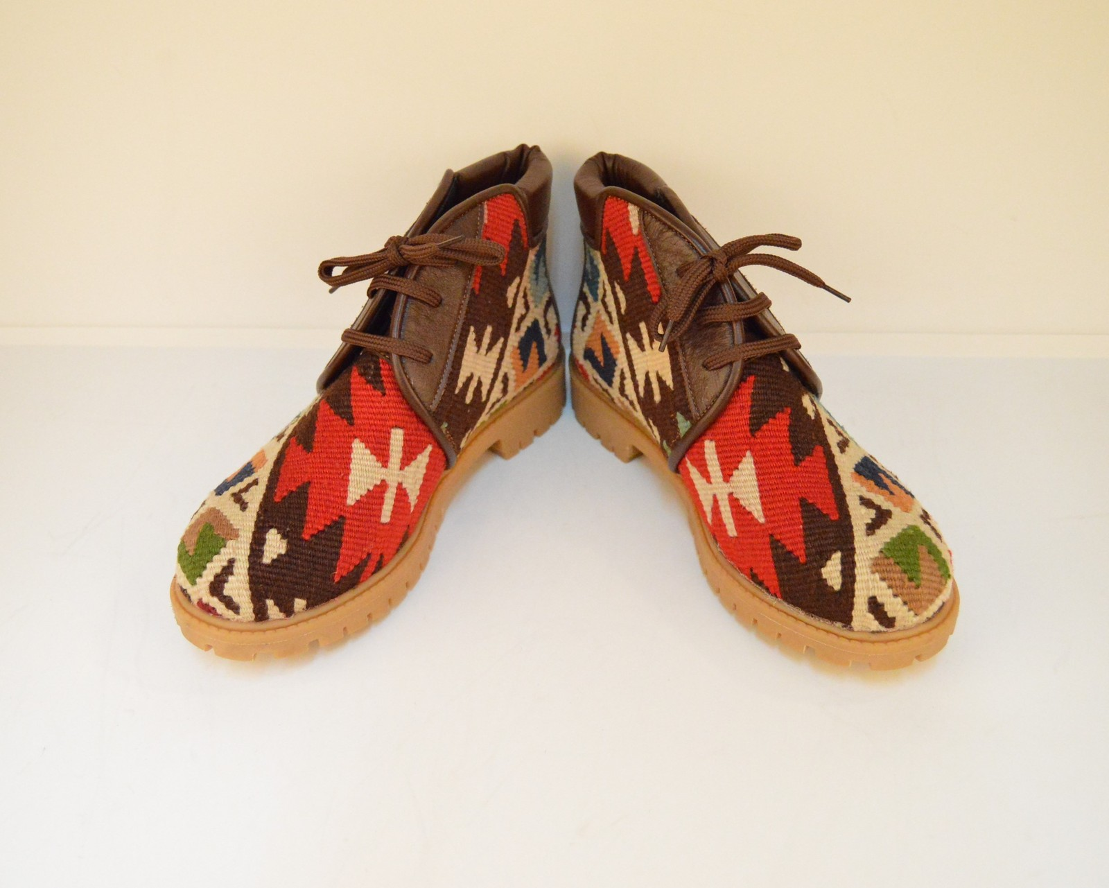 Primary image for kilim boots,rug bosts, Leather boots,boots,men's boots,Ankle Boots,wool boots