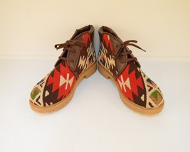 kilim boots,rug bosts, Leather boots,boots,men's boots,Ankle Boots,wool ... - $229.00