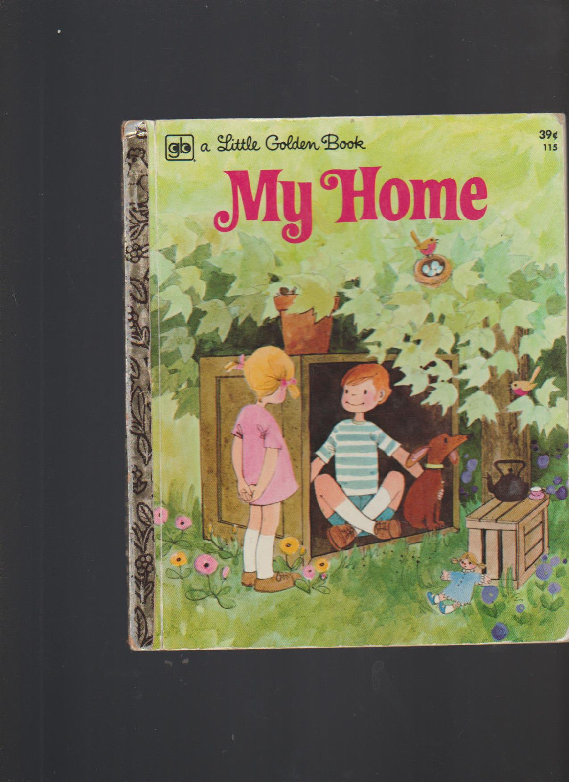 My Home Little Golden Book #115 Renee Bartkowski 3rd Print ROFry