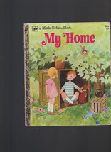 My Home Little Golden Book #115 Renee Bartkowski 3rd Print ROFry - $12.05