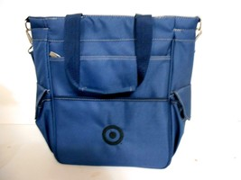 Picnic Time 20-Can Insulated Cooler Bag Tote Soft Blue Water Proof Travel Pack - $32.69