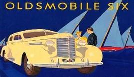1937 Oldsmobile Six Magnet - $5.99