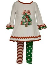 Girls size 24M Bonnie Jean Christmas Tree Top and Legging Set NWT - $37.40