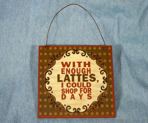 Sign sq lattes