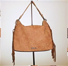 New Reaction Kenneth Cole Tan Fringe Tote Large... - $39.00