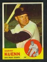 1963  TOPPS  # 30   HARVEY  KUENN    EX-   !! - $9.99