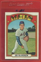 1972 Topps High # 781 Jim Mc Andrew From A Set Break !! - $94.99