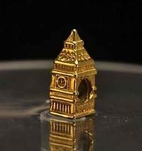 BIG BEN Buckingham Palace London charm gold plated bead - $658,52 MXN