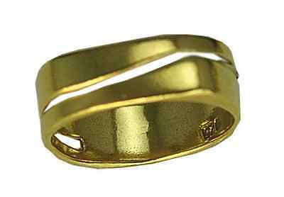 Celtic Balance Nature Witch Dreams ring Gold Vermeil