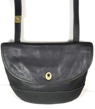 Fossil Vintage Black Pebbled Leather Crossbody Shoulder Bag – Well Worn - $28.12