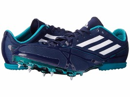 Adidas Performance Mens Adizero MD 2 Navy Athletic Running Shoes 15 M (D... - $44.54