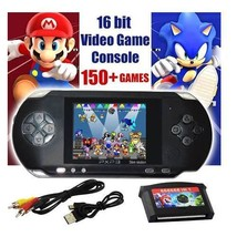 PXP 3 Handheld Portable Game Console 16 Bit Retro Video 150+ Games - $32.99