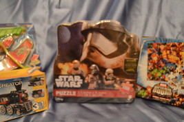 Star Wars 1000 Puzzle Pieces, Super Hero Squad 25 Puzzle Pieces, Lego Cr... - $15.00