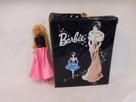 Barbie Vintage 1962 Ponytail Mattel Barbie doll black vinyl case + 1966 ... - $18.42