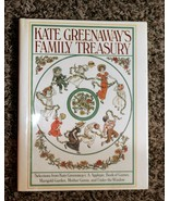 Kate Greenaway's FAMILY TREASURY 1st Edition with Dust Jacket  - $25.17