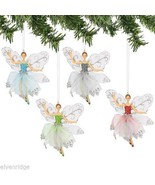 Frosted Snow Fairy  choice of color  Vintage look NEW - $39.99