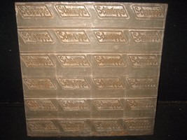 "Antique Schnapps Beverage Zinc Embossing / Label Printing Plate 12"" x 12"" - $70.13"