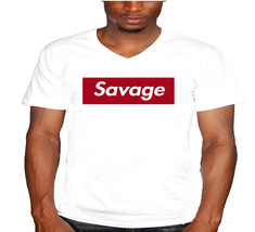 Savage Mens V-Neck T-Shirt - $12.00
