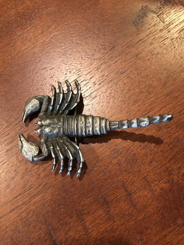 Menacing Scorpion Heavy Metal Belt Buckle