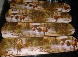 Have one to sell? Sell now CUSTOM ~ ~ COWBOYS RIDING HORSES MOUNTAINS C... - $99.99
