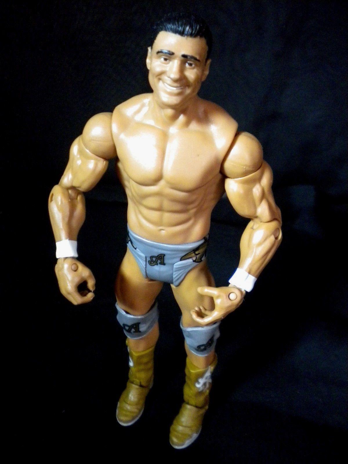 Alberto Del Rio WWE Mattel Basic Wrestling Figure Gray Gear WWF Wrestler 2011