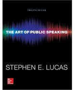 The Art Of Public Speaking 12th Edition (instan... - $1.48
