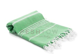 PESHTOW 100% Pure Cotton Peshtemals, Turkish Bath & Beach Towel, Pestema... - $17.25